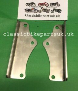 Matchless AJS Twin Front Engine Mounting Brackets Plates 013943-4 (S502)